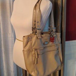 Tyler Rodan beige taupe shoulder bag